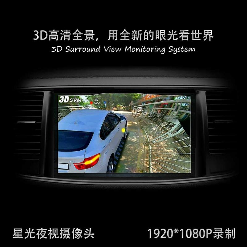 3D高清环视监控系统(3D全屏版)